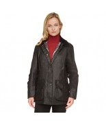 Barbour Beadnell Black Wax Jacket