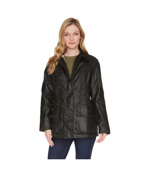 Barbour Beadnell Sage Wax Jacket