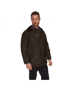 Barbour Beaufort Wax Jacket Olive Sylkoil