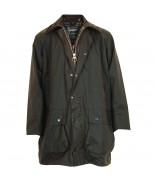 Barbour Northumbria Wax Jacket - Olive Sylkoil