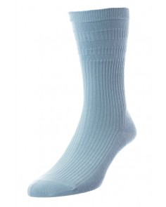 Duck Egg Softop Cotton Rich Socks