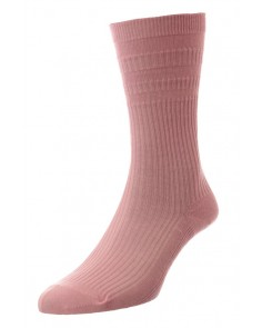 Pink Softop Cotton Rich Socks