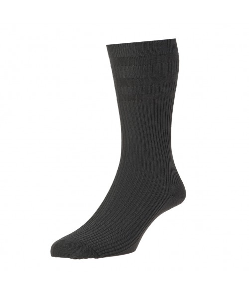 Charcoal Softop Cotton Rich Socks