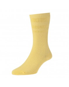 Mid Maize Softop Cotton Rich Socks