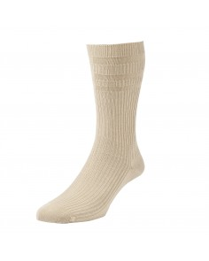 Oatmeal Softop Cotton Rich Socks