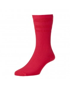 Red Softop Cotton Rich Socks