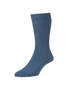 Slate Blue- Softop Cotton Rich socks