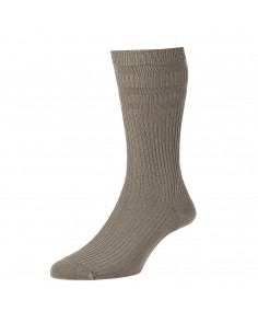 Taupe Softop Cotton Rich Socks