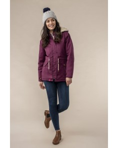 Raven Waterproof Jacket - Plum