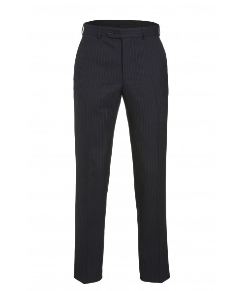 Magee Mix and match Suit Trouser - Navy Multi Pinstripe