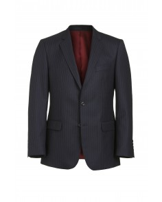 Magee Mix and Match Suit Jacket - Navy Multi Pinstripe