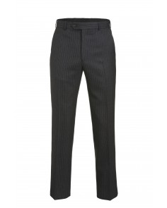 Magee Mix and Match Suit Trouser- Charcoal Grey Multi Pinstripe