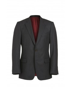 Magee Mix and Match Suit Jacket - Charcoal Grey Multi Pinstripe