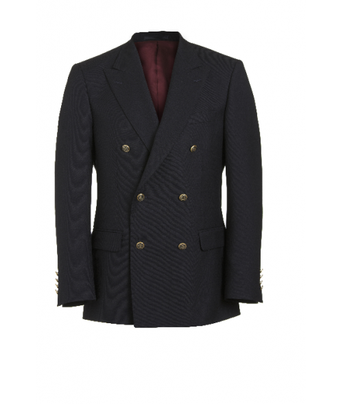 Magee Double Breasted Blazer -Navy