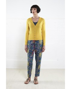 Organic Cotton Cardigan -Sunflower