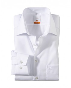 White- Luxor Modern Fit Shirt