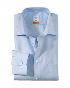 Blue- Luxor Modern Fit Shirt