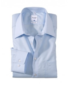 OLYMP Tendenz Regular Fit Shirt - Blue