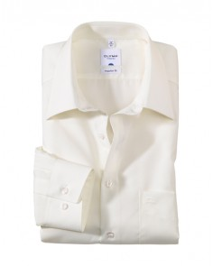 OLYMP Tendenz Regular Fit Shirt - Cream