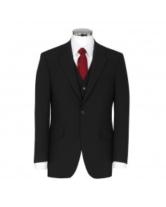 Plain Black- Scott (Mix & Match) Suit Jacket