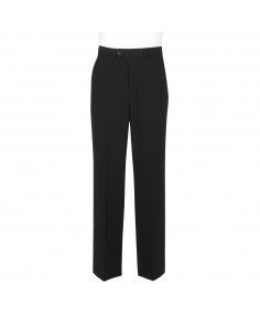 Plain Black- Scott (Mix & Match) Suit Trouser