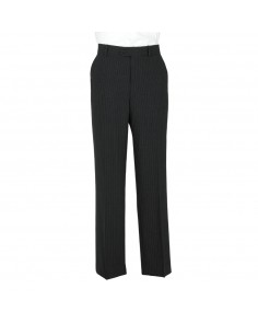 Charcoal Pinstripe- Scott (Mix & Match) Suit Trousers