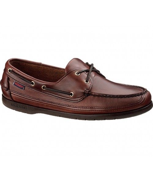 Schooner Boat Shoe- Brown Oiled Wax