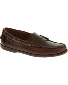 Sloop Moccasin Boat Shoe- Brown