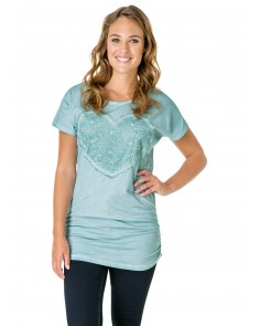 Omacha Sea Green Top
