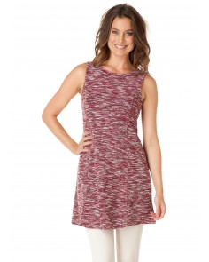 Aberdeen Pinafore Dress- Wine Red